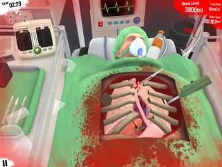 Surgeon Simulator – «Сестра, дайте мне скальпель!»